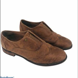 B52 by bullboxer Women's  brown suede shoes 8.5